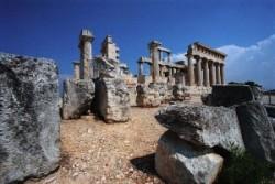 Aphaia- szentély Aigina szigetén
