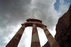 Athéné körtemploma a Delphoi szentélykörzetben