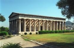 Héphaisztosz temploma az Agórán