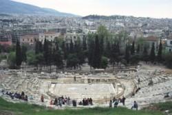 A Dionüszosz Színház maradványai
