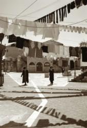 Magyar házak Mea Seargyedébenim ortodox zsidó negyedében, Jeruzsálem,