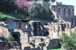A Palatinus palotáinak falai.