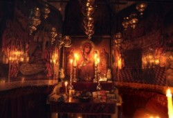 Kopt kápolna Jézus sírjánál