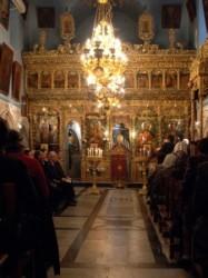 Szent Jakab kápolnája_Szentsír templom Görög orthodox egyház_Jézus Krisztus feltámadt. Az Úr Jézus Krisztus_