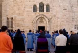 Szent János kápolna, szentsír templom, jeruzsálem óváros keresztény negyed, római katolikus, örmény, református, hit