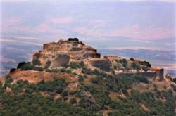 Nimrod vára és környéke a Golánon.