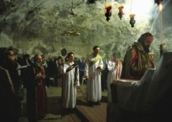 Jakobiták kápolnája Izrael fővárosában Jeruzsálem keresztény negyedében levő Szentsír templomban van. Szír orthodox keresztény egyház kápolnája a Szentsír templom rotundojából közelíthető meg.