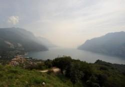 Hegyi erőd a Garda tónál_