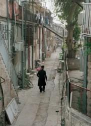 Mea Searim Jeruzsálem ortodox zsidó negyed.