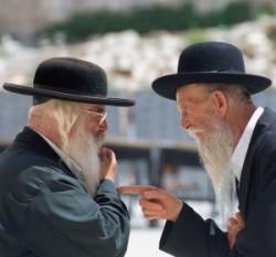 Izrael fővárosában Jeruzsálemben élnek az ultraortodox zsidók.