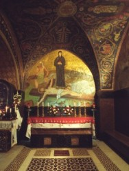 Golgota, Római katolikus kápolna, szentsír templom, Jézus krisztus megfeszítése,